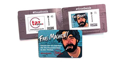 #freedeniz-Briefmarken #FREE THEM ALL