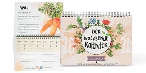 Saatgut-Kalender Tausendsassa 2020
