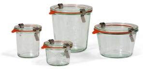 Weck Sturzglas, 4er Set