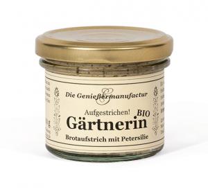 Brotaufstrich Gärtnerin BIO