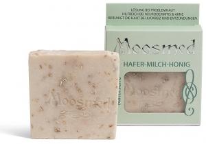Hafer Milch Honig (handgesiedete Naturseife)