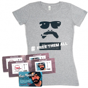#FreeThemAll-Shirt Frau