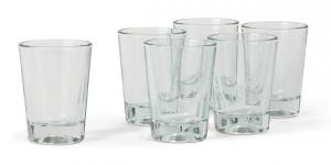 Klassische italienische Gläser (6 Stück)