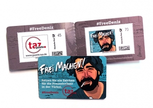 #freedeniz-Briefmarken