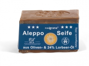 Alepposeife, 24% Lorbeeröl