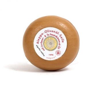 Nigella Sativa Olivenseife mit Schwarzkümmelöl