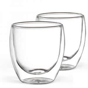 2er Set Kaffeeglas 250 ml