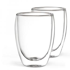 2er Set Milchkaffeeglas 350 ml