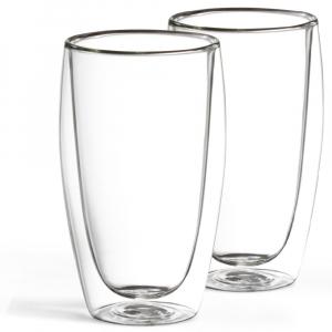 2er Set Latte Macchiato Glas 450 ml