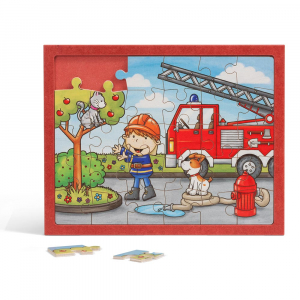 Kinderpuzzle Feuerwehr