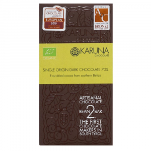 Karuna Schokolade fast dried Belize
