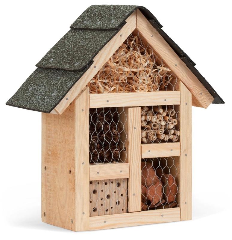 Bausatz Insektenhotel Mit Fullmaterialien
