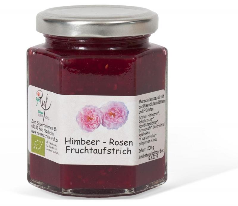 himbeer rosen fruchtaufstrich tazshop. Black Bedroom Furniture Sets. Home Design Ideas