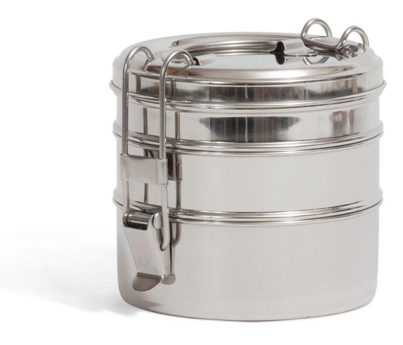 tiffin swing edelstahl lunchbox dreilagig tazshop. Black Bedroom Furniture Sets. Home Design Ideas