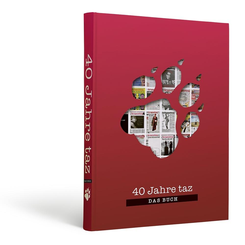 40 Jahre Taz Das Buch