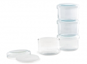 Jenaer Glasbehälter 0,4 Liter (4er Set)