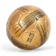 Fußball Teamwork Gold