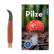Pilzpflückmesser + Buch
