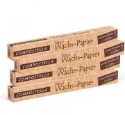 Compostella Küchenpapier Natur-Wachspapier im Viererpack
