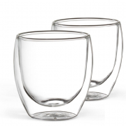 2er Set Kaffeeglas 250 ml