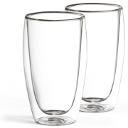 2er Set Latte Macchiato Glas 450 ml