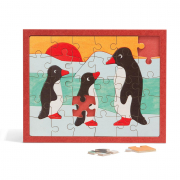 Kinderpuzzle Pinguin