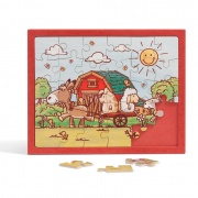 Kinderpuzzle Bauernhof