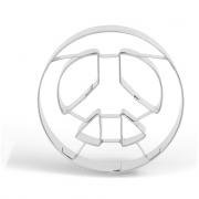 Ausstechform Peace