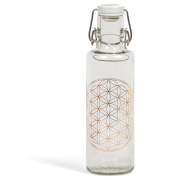 Glasflasche Soulbottle »Flower of Life«