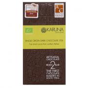 Karuna Schokolade, fast dried