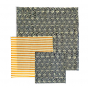 3 Bienenwachstücher (Ornamente)